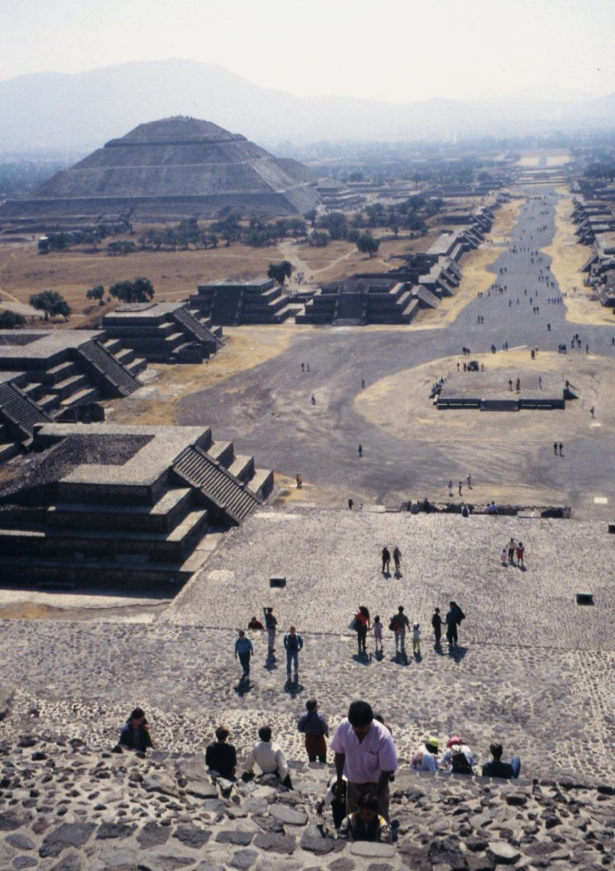 Mayan Teotihuacan temples