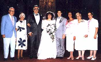 Cliff and Laurie Gerstman's (Ush) wedding 1990