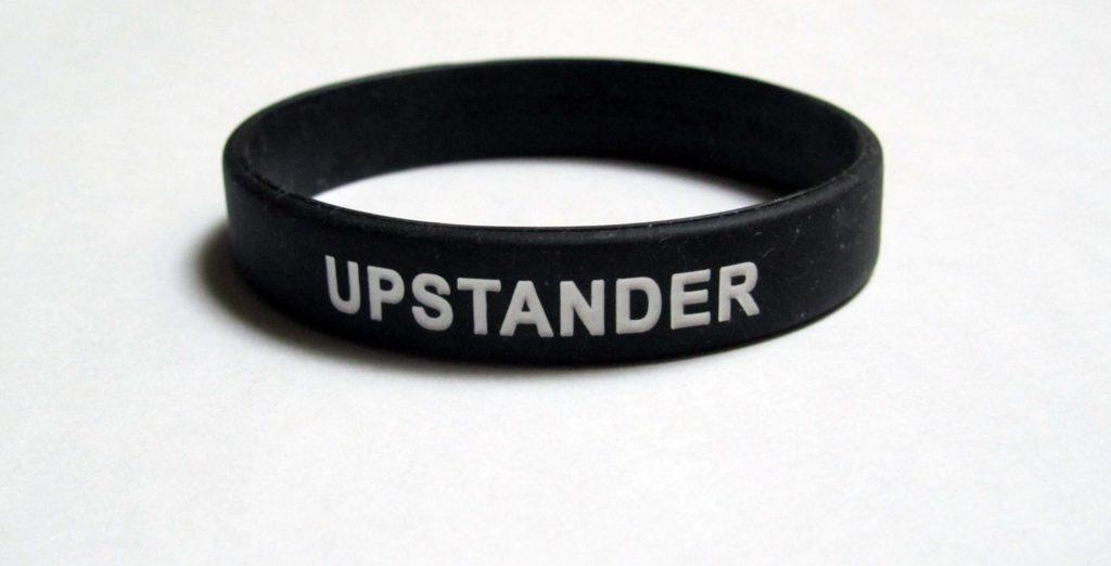 Upstander bracelet