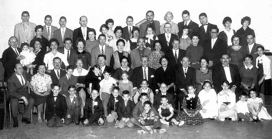 1958 extended family photo