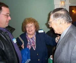Brahm Wiseman, Doris Mayoff and Moe Mayoff