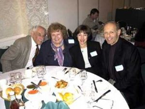 Hy Bezonsky, Doris Mayoff, Doreen and Neil Kipnis