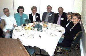 Viv and Felicia Heller, Sarah and Moe Mayoff, Leon Carson, Billie Carson Solomon, Dorice Carson.