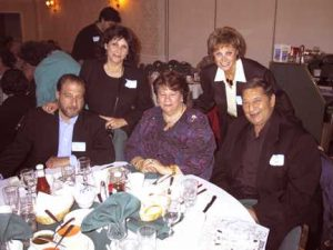 Ernest and Merka Weiss, Shirley, Judy and Rocky Rapoport.