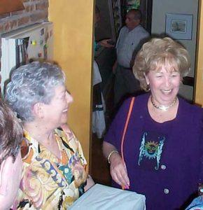 Bea Solomons and Barbara Berman