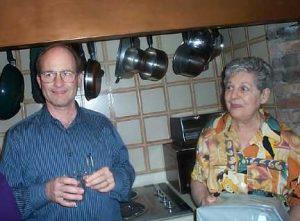 Len Cappe and Beatrice Solomons