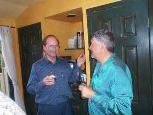 Len Cappe and Stephen Solomons