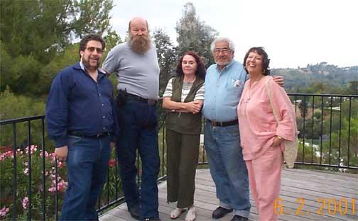Cliff Gerstman, Herb and Rhea Johnson, Richard Bleich and Alice Gerstman