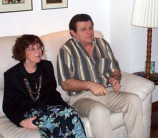 Bonnie Bernstein and Allan