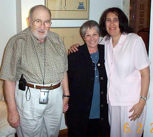Herb and Barbara Simon, Sue Mayoff