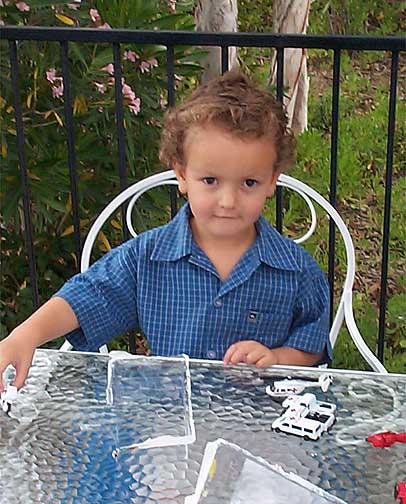 Jake Mayo, age 3.