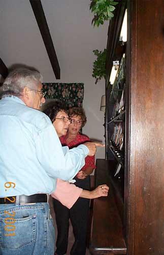 Richard Bleich, Alice Gerstman and Arleen Bernstein