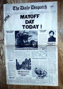 Mayoff Day makes the headlines