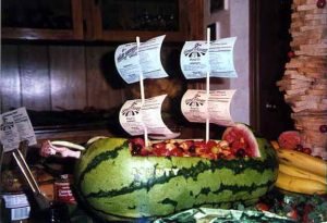 Watermelon reproduction of HMS Bounty