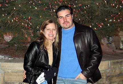 Jordana Magnica and Brad Isaacs