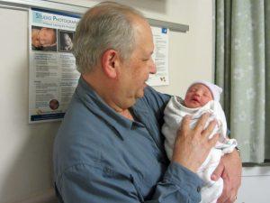 Bernie Mayoff holding Alice Shepherd, December 14, 2012