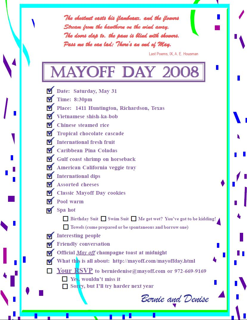 Invitation 2008