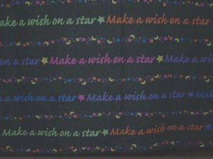 Make A Wish table cloth