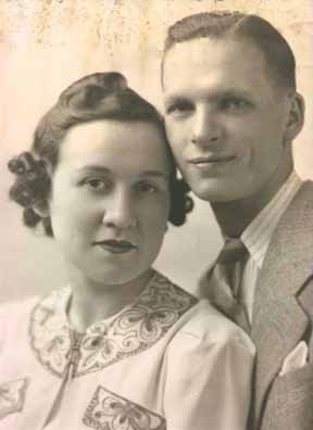 Ada and Meyer Mayoff wedding picture, June 8, 1940