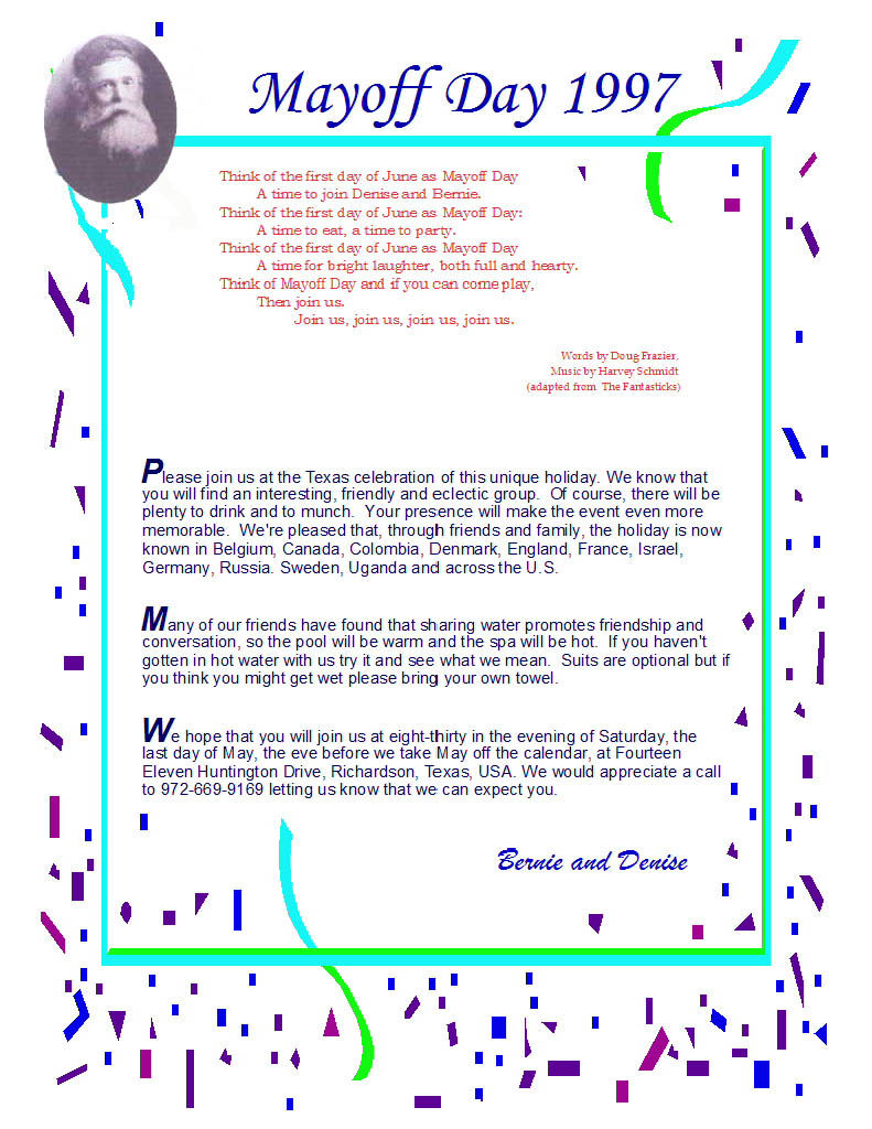 invitation 1997