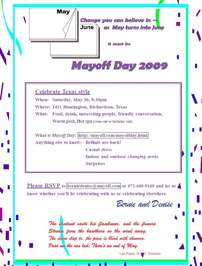 invitation 2009