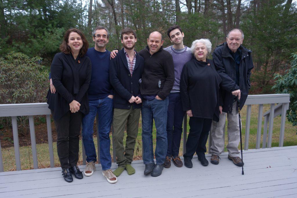 Brewer_Scherer family:  Ellen, Patrick, Alex, Aaron, Theo, Ettie, John
