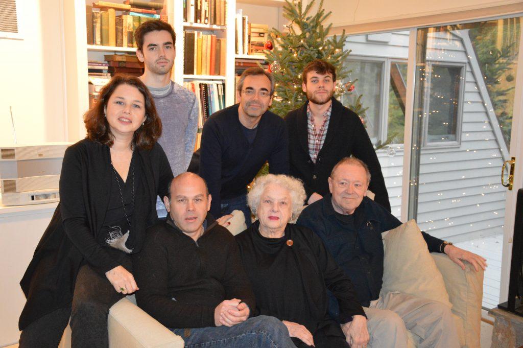 Front:  Aaron, Ettie, John.  Rear:  Ellen, Theo, Patrick, Alex