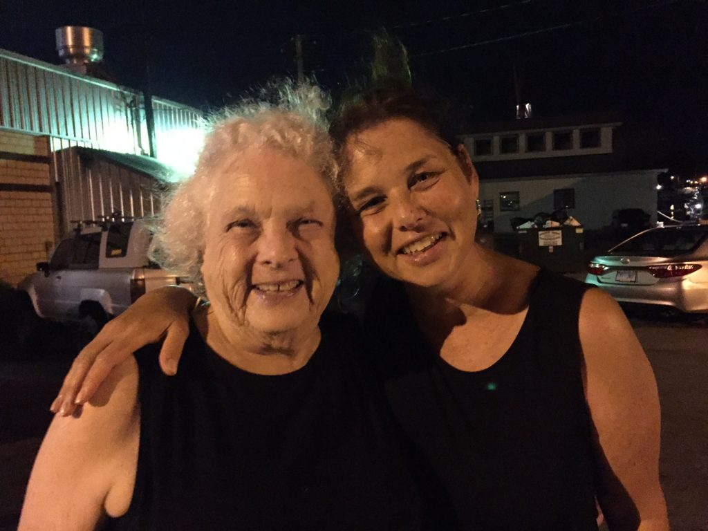 Ettie Bailin and daughter Ellen Scherer, August 18, 2016